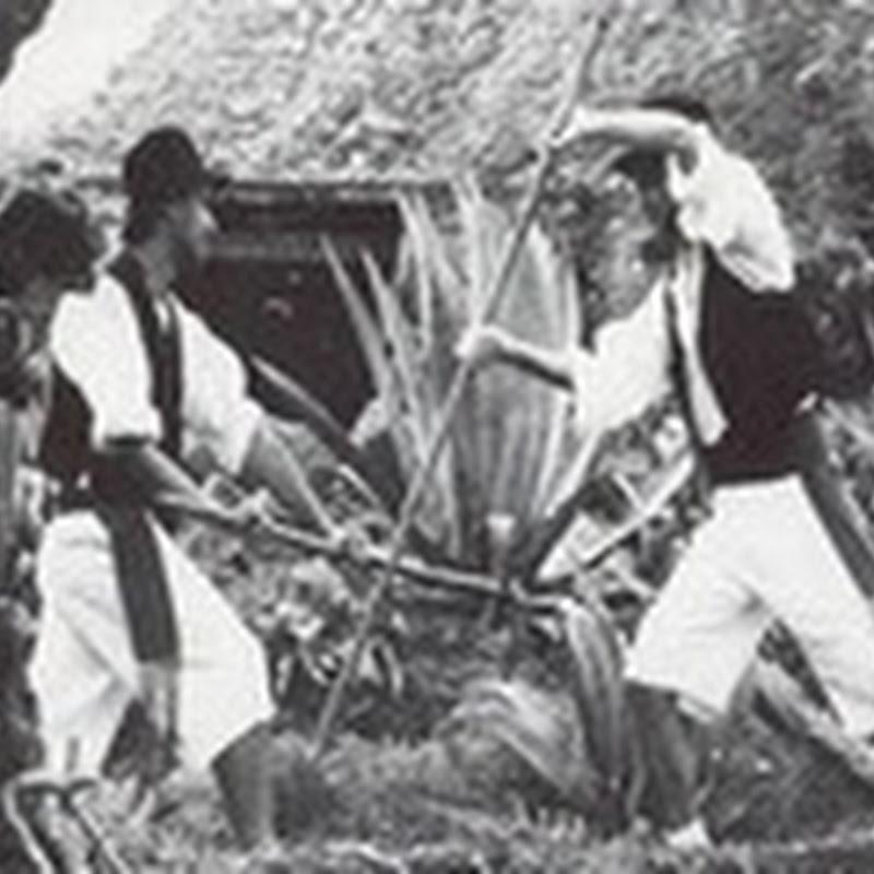 Lucha Garrote - (Juegos Tradicionales Canarios)