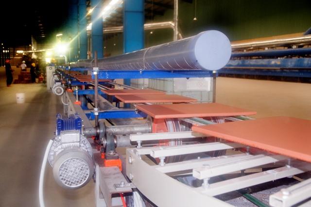 Dây chuyền sản xuất gạch clinker Viglacera Hạ Long