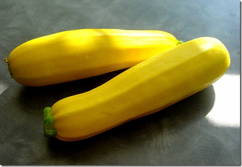 Yellow Taxi Courgettes