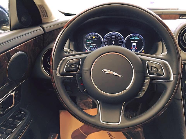 Nội thất xe Jaguar XJL Premium Luxury LWB 09
