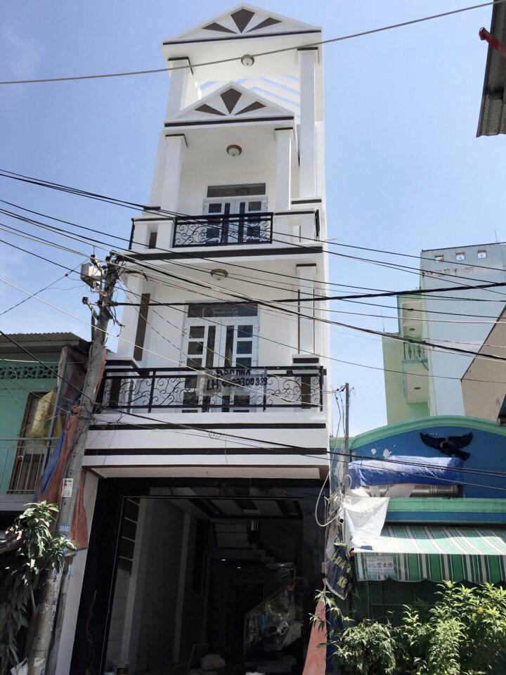 Nhà Phố Mặt Tiền đường Cây Keo Quận Tân Phú 1 trệt 3 lầu 01