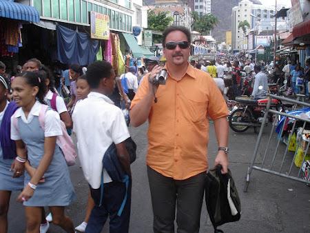 5. strada aglomerata din Port Louis Mauritius.JPG