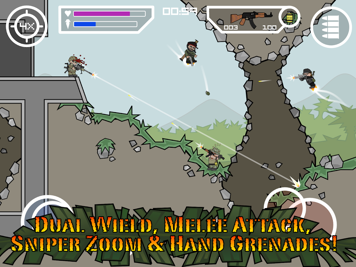 Doodle army 2 mini militia android apps on google play