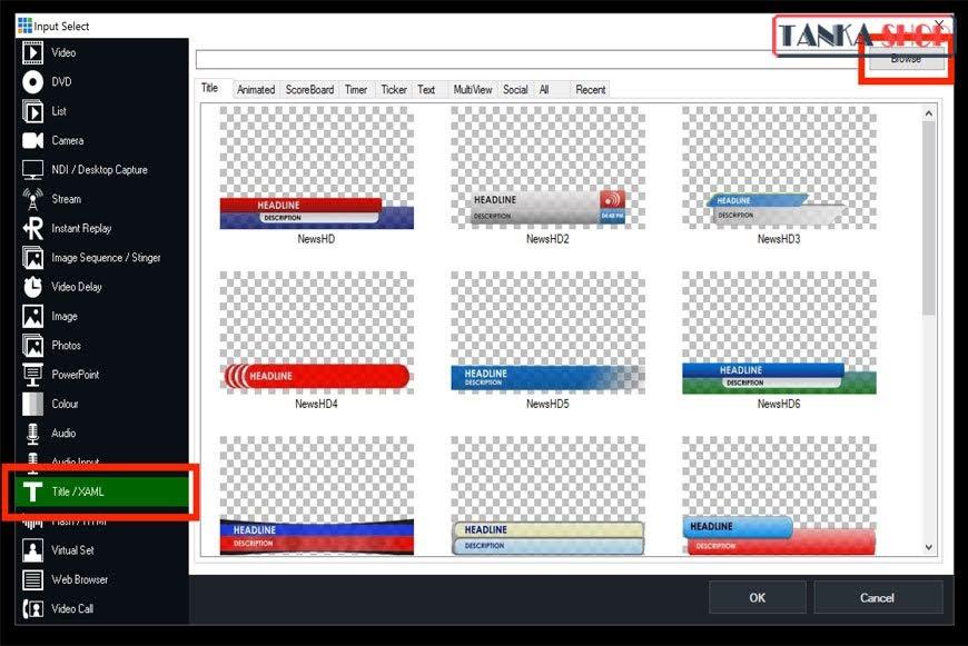Hướng dẫn sử dụng phần mềm vMix
