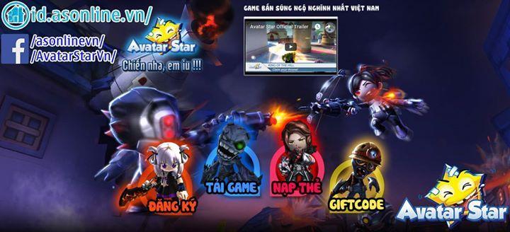 Thông báo: Avatar Star VN cập nhật hệ thống đăng ký, nạp