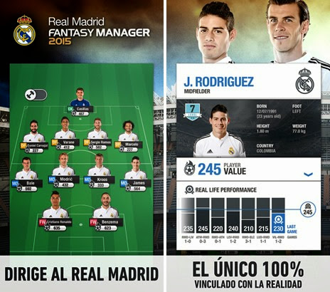 Real Madrid Fantasy Manager 2015