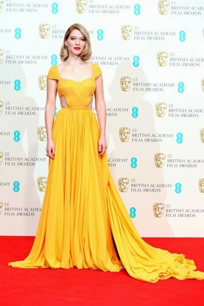 Lea Seydoux attend the EE British Academy Film Awards