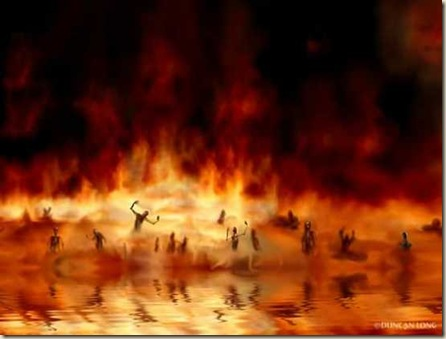 lago fuego infierno dios biblia apocalipsis ateismo top horrible