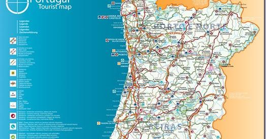 Mapa De Portugal Completo.Vinho E Delicias Sobre Vinho Mapa De Portugal Completo