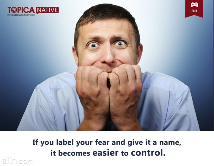 FUNFACT!! If you label your fear and give it a name, it