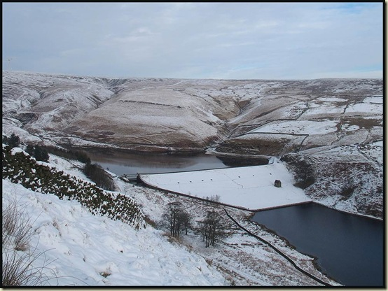 The Naden Valley reservoirs