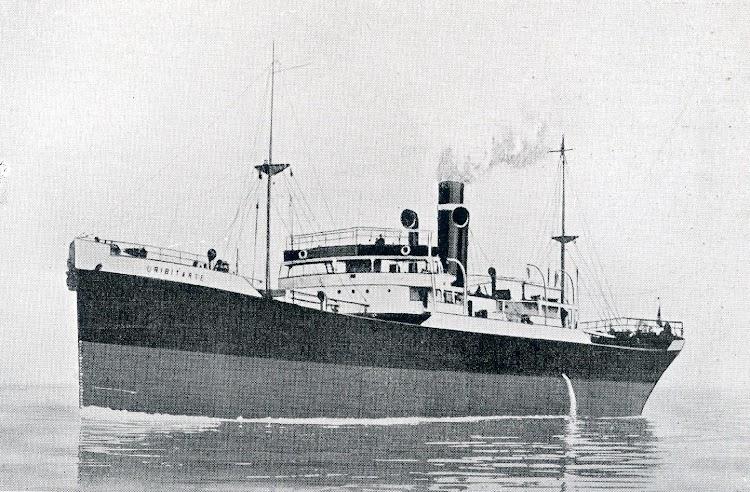 Pruebas de mar del URIBITARTE, en 1.922. De la revista THE SHIPBUILDER, Enero de 1923.JPG