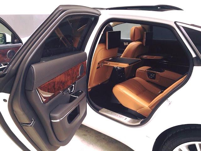 Nội thất xe Jaguar XJL Premium Luxury LWB 08