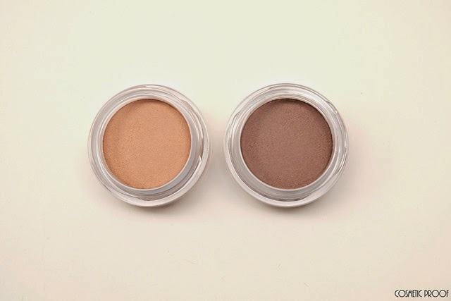 Clarins Ombre Matte Cream to Powder Eyeshadows 04 Rosewood Nude Beige Review Swatches (2)