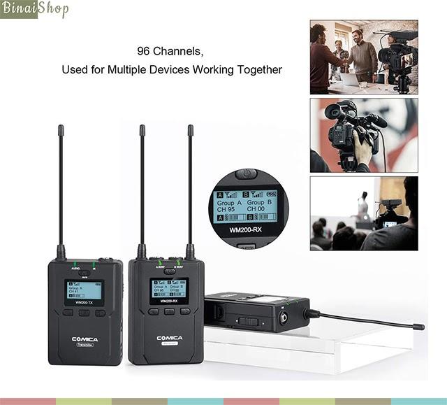 Comica CVM-WM200A (2 transmitter)