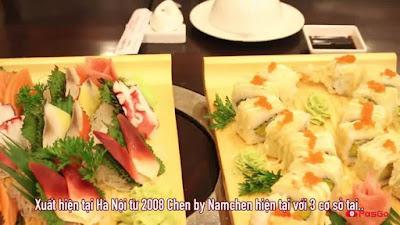 HN Cận Cảnh Siêu Đầu Bếp Nhật Chế Biến Hải Sản Na