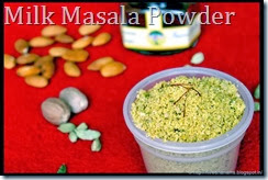 Milk Masala Powder
