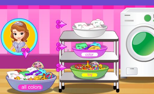 玩免費休閒APP|下載小公主洗衣服 app不用錢|硬是要APP