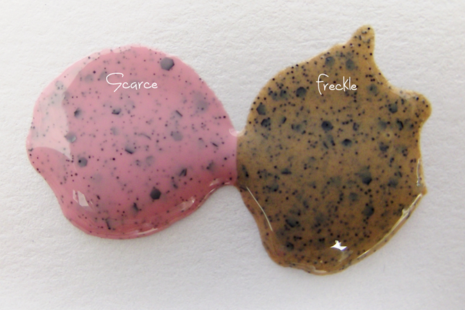 Esmaltes Imperfection Illamasqua Freckle e Scarce