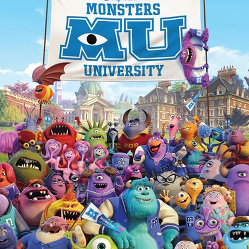 Monsters University Issues Global All Character Poster