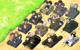 Hình Ảnh Girls und Panzer Heartful Tank Disc Picture Drama