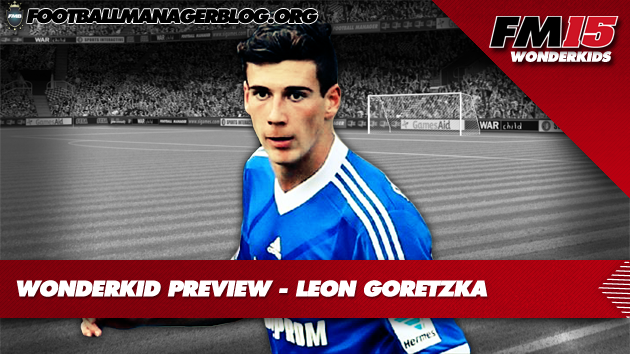 Leon Goretzka Football Manager 2015