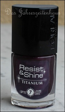 L'Oreal Paris Resist & Shine Titanium - Black Violet
