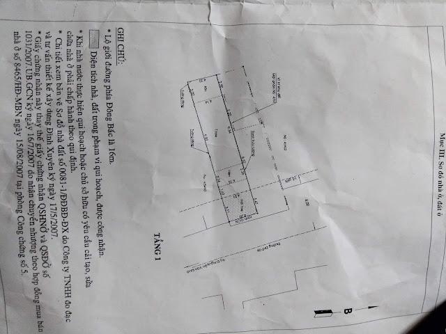 Bán nhà cấp 4 Mặt Tiền Đông Hưng Thuận 2 Quận 12 - 0010