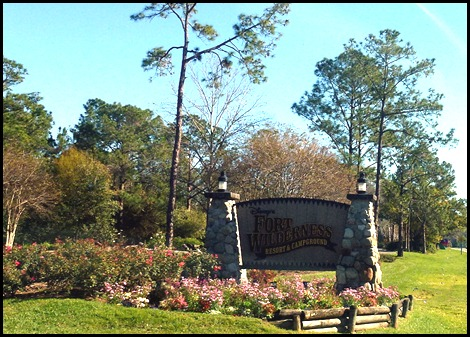 01 Fort Wilderness Campground Entrance