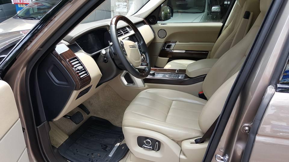 Nội thất xe Range Rover HSE 02