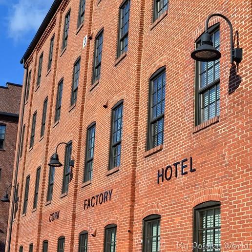 Cork Factory Hotel: My Paisley World: December 2013