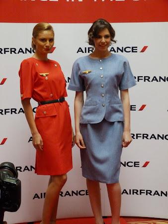 Conferinta de presa Air France KLM: Uniforme Air France