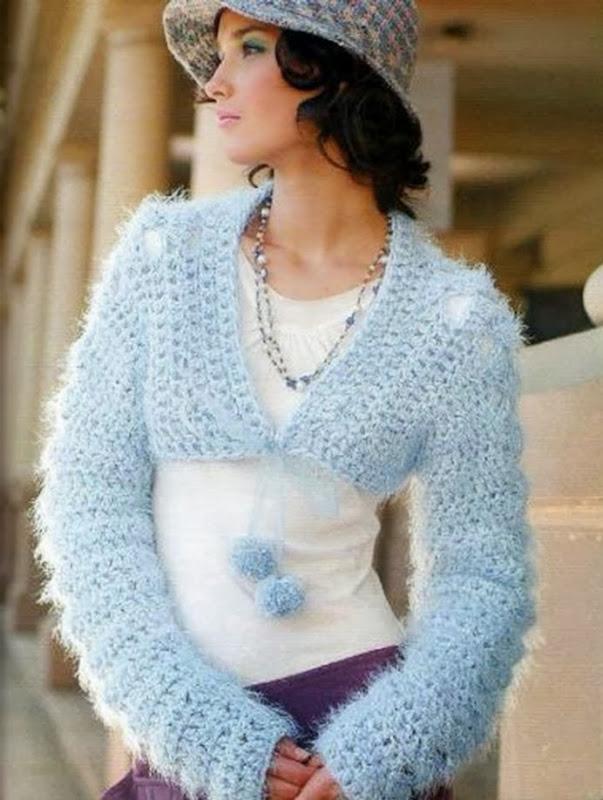 bolero torera celestial tricot instrucciones01