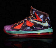 2013 lebron x MVP sneaker what the MVP