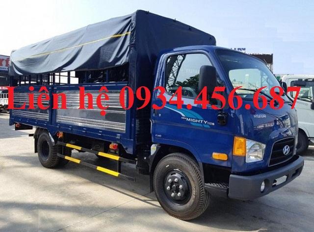 New Mighty 110s Hyundai 7 tấn thùng bạt