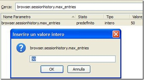 Firefox browser.sessionhistory.max_entries