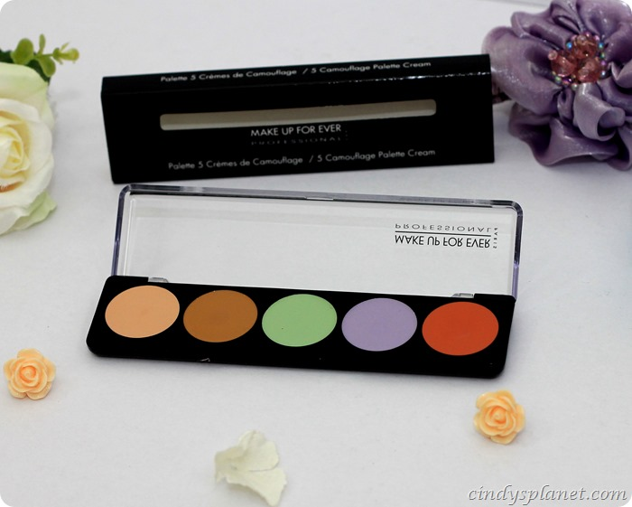 Make Up For Ever Camouflage Cream Palette (8)