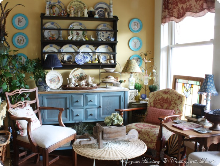 Sunroom-Bargain Hunting with Laurie
