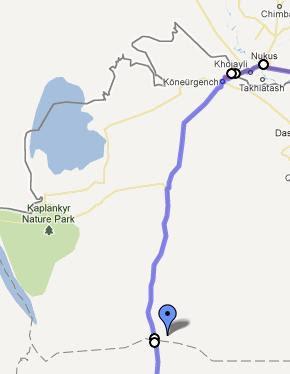 Traseu prin Turkmenistan