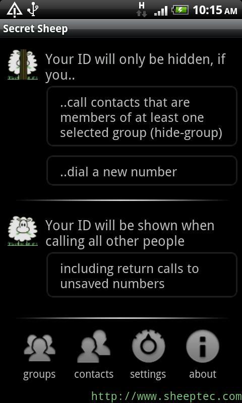 SecretSheep Lite - hide ID- screenshot
