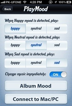 PlayMood-settings