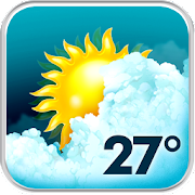 Animated Weather Widget&Clock