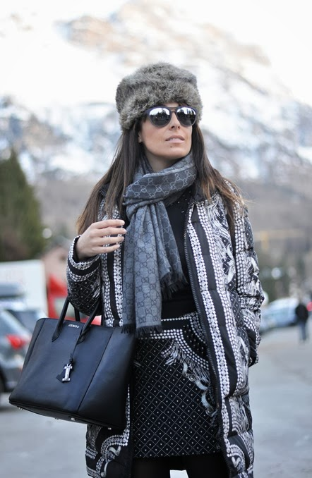 outfit, cortina d'ampezzo fashion week end, total look seventy, italian fashion bloggers, fashion bloggers, street style, zagufashion, valentina coco, i migliori fashion blogger italiani