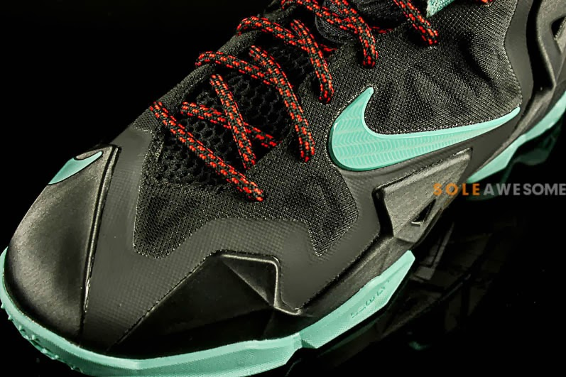 buy online e34bf df4a2 ... sweden first look at nike lebron xi gs black mint green 621712004 6ead5  01cd4
