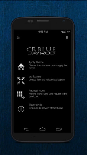 CR Blue Icon Pack