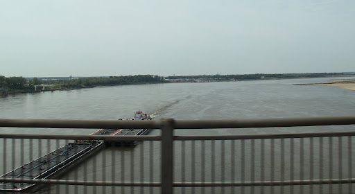 Crossing the Mississippi at Memphis