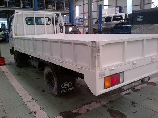 Xe tải 8 tấn Đô Thành thùng lửng