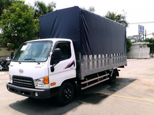 Hyundai HD72 thùng bạt