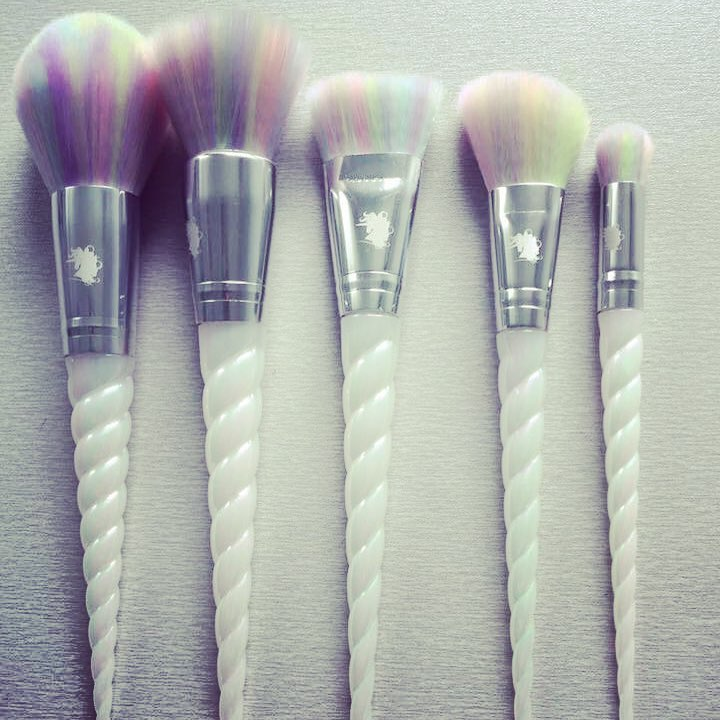 Unicorn makeup brush set australia
