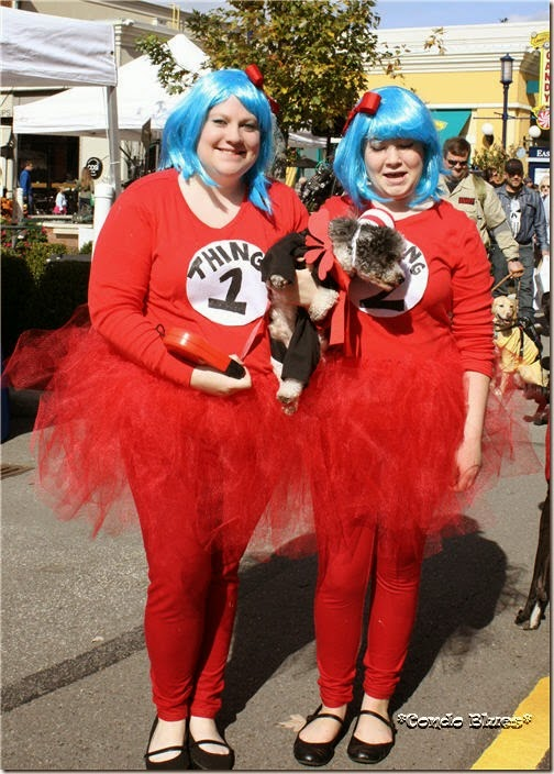 Dr Suess Dog Halloween costume